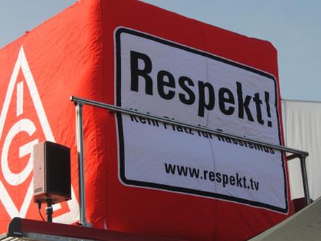 Aufstehen gegen Rassismus – für Respekt und Solidarität