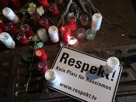 Solidarität und Anteilnahme für die Opfer des Anschlags in Hanau