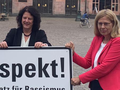Gemeinsam in Frankfurt ein Zeichen setzen!
