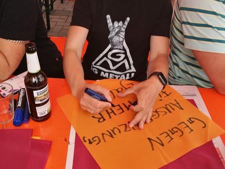 Respekt!-Volles Sommerfest in Offenburg