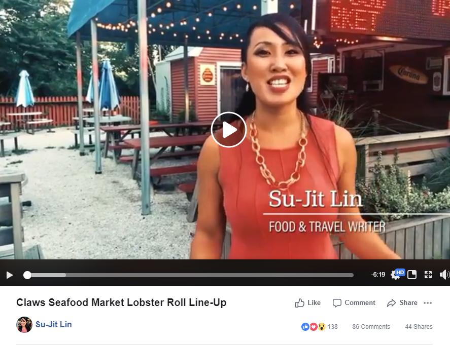 Claws Seafood Market Lobster Roll Line U