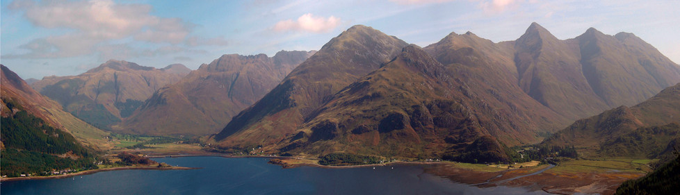 Five Sisters of Kintail from Mam Ratagan