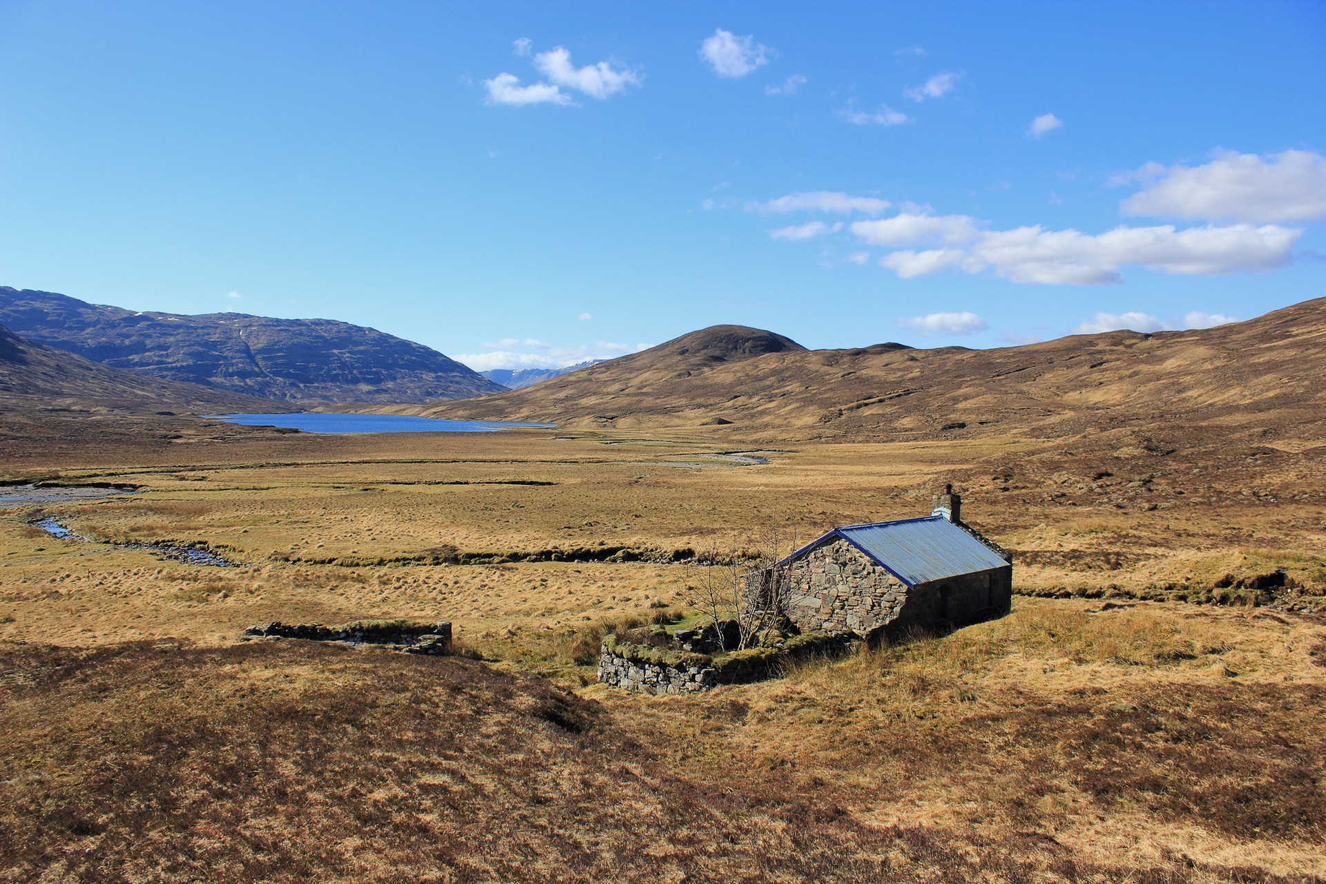 Bearnais Bothy, North West Highlands