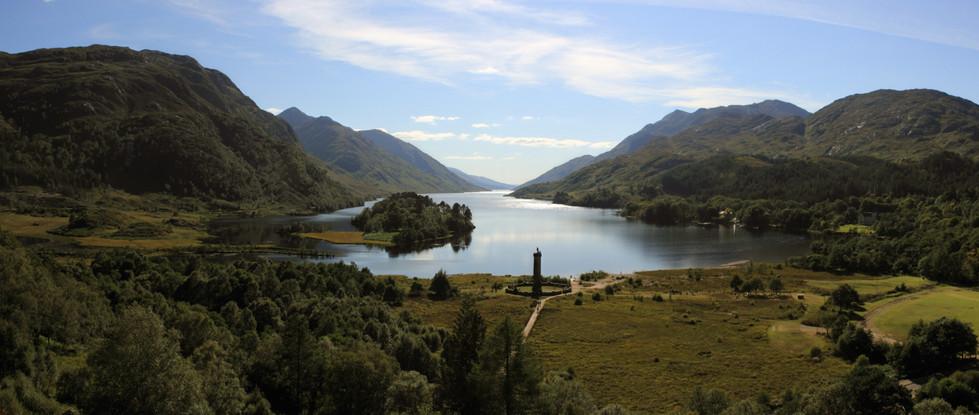 Loch Shiel and Glenfinnan Monument