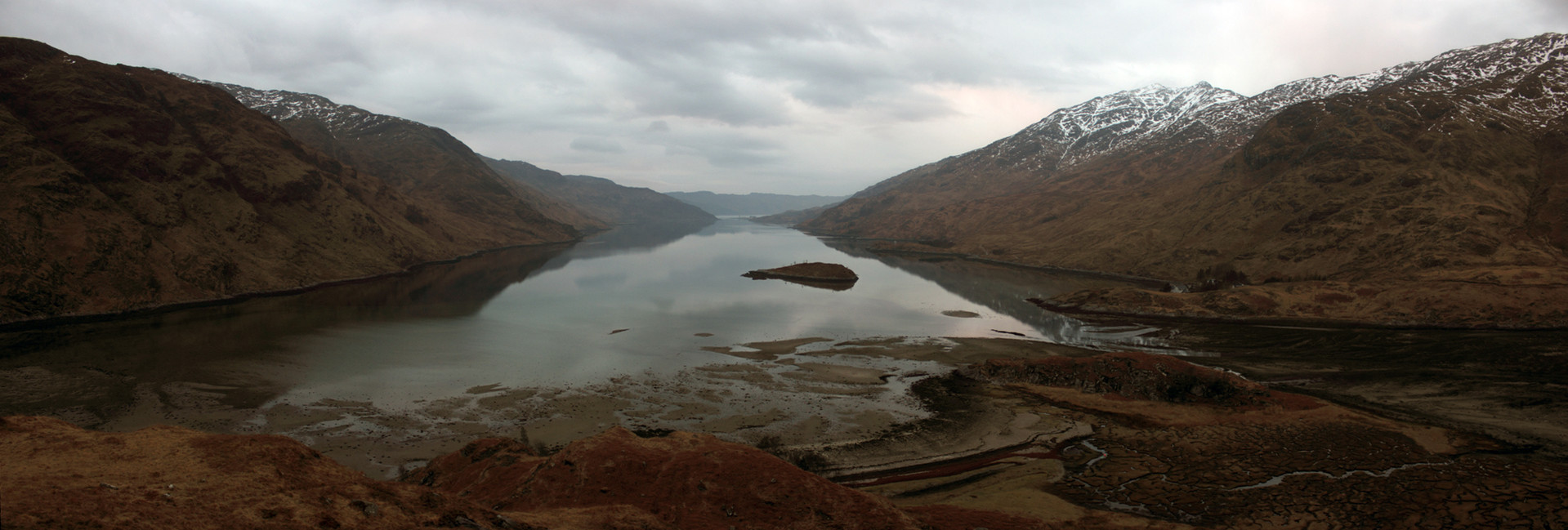 Loch Nevis from close to Sourlies Bothy