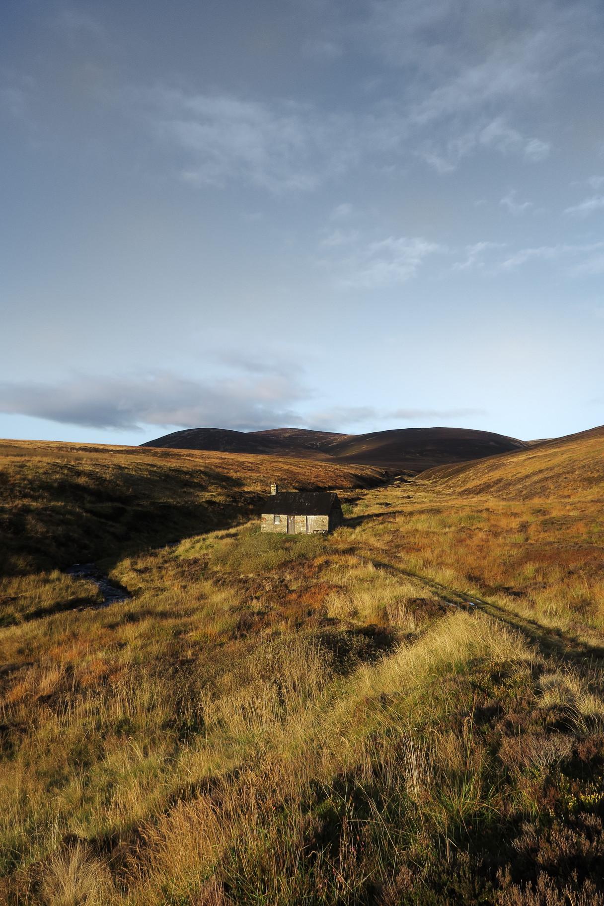 Allt Scheicheachan Bothy, Southern Cairngorms