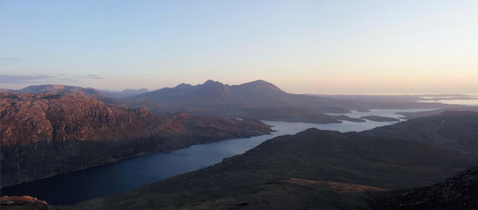 Quinaig from Beinn a'Bhutha, Loch Glendhu