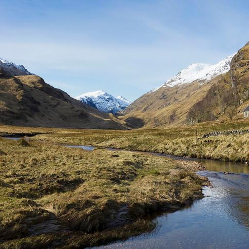 February : Glen Pean, Western Highlands