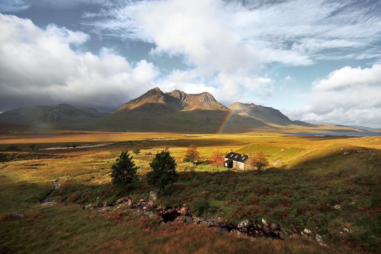 Shenavall Bothy, Northern Highlands