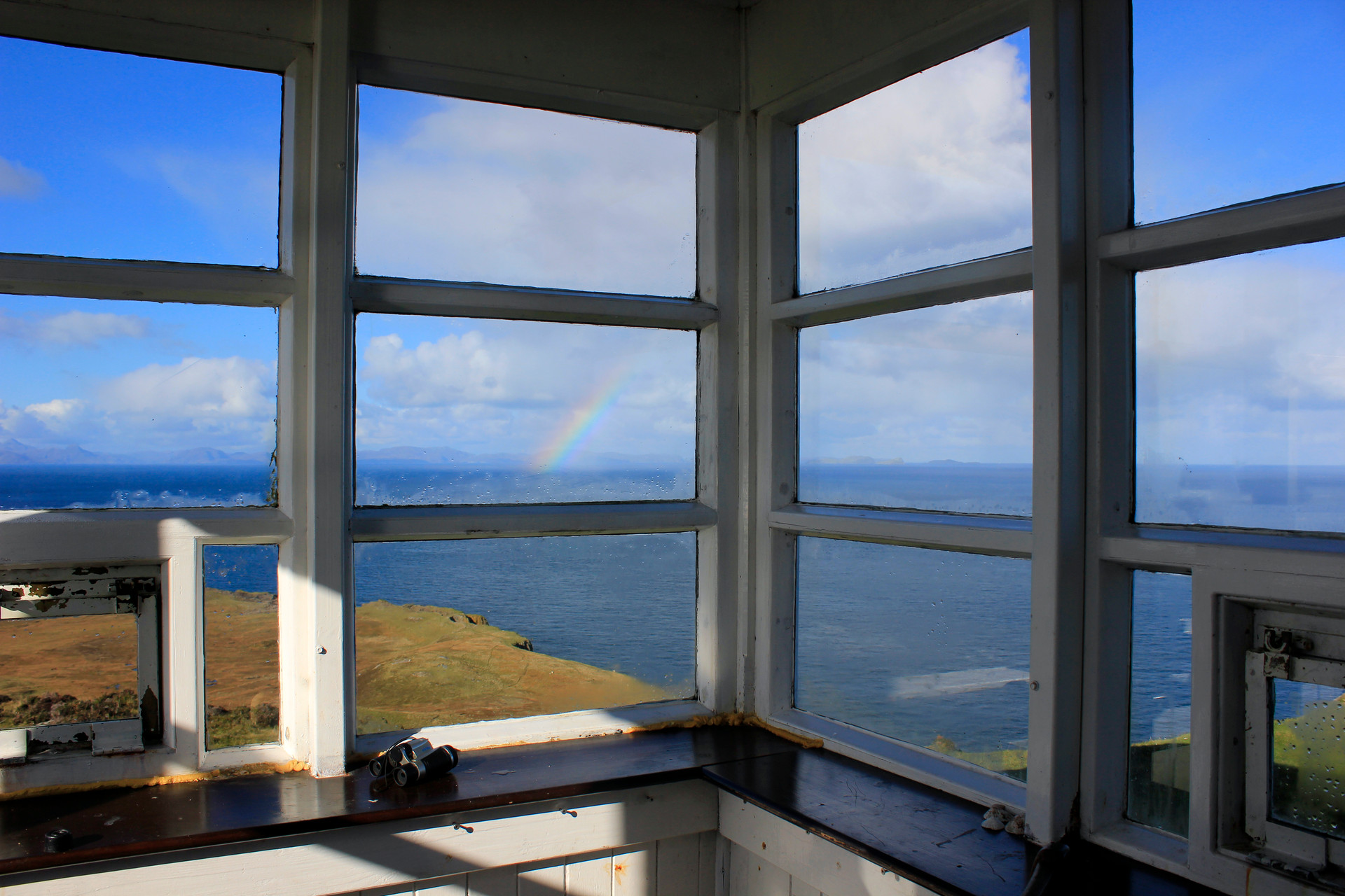 View from The Lookout Bothy, Skye