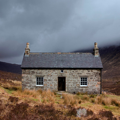 April : Coire Fionnaraich, North West Highlands