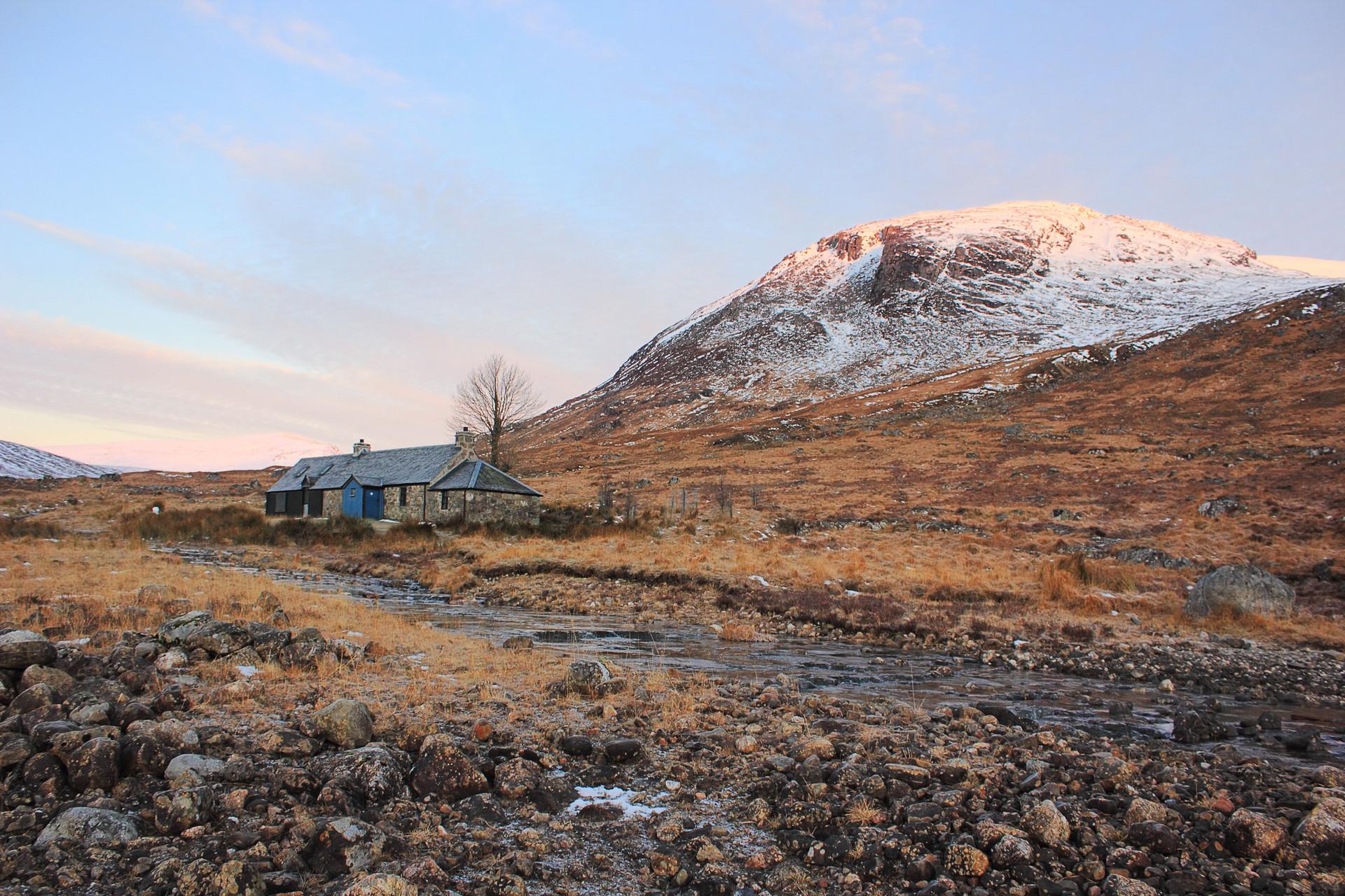 Ben Alder Cottage, Central Highlands