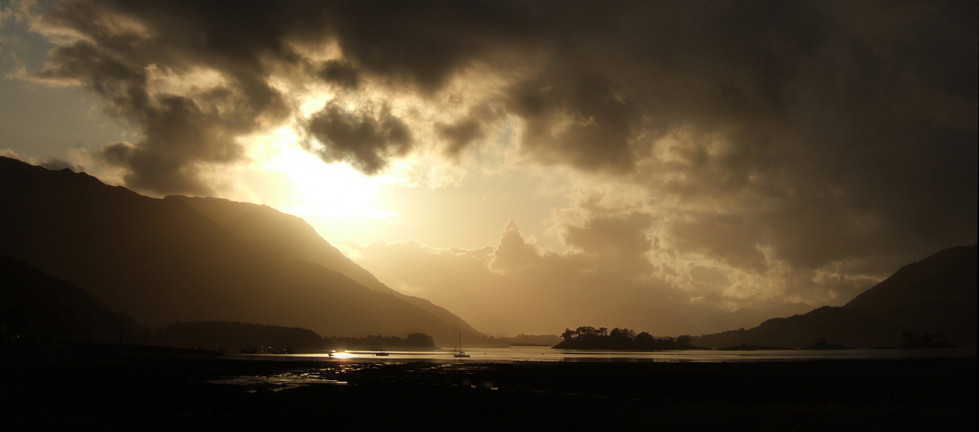Loch Leven from Glencoe Village