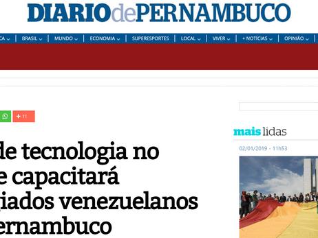 Polo de tecnologia no Recife capacitará refugiados venezuelanos em Pernambuco