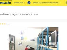 Upcycling, metarreciclagem e robótica livre
