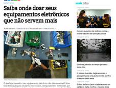 Saíba onde doar seus equipamentos eletrônicos que não serbem mais 17/04/19