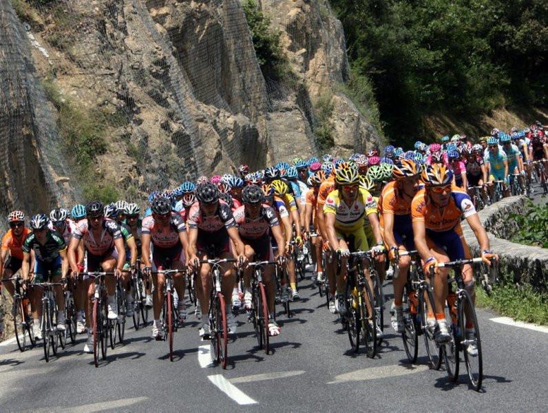 Tour de France Gorges de la Pierre Lys