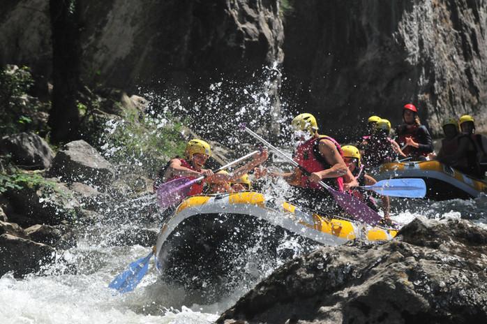 Rafting rivière Aude