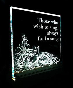 those who wish to sing always find a song glass piece.jpg