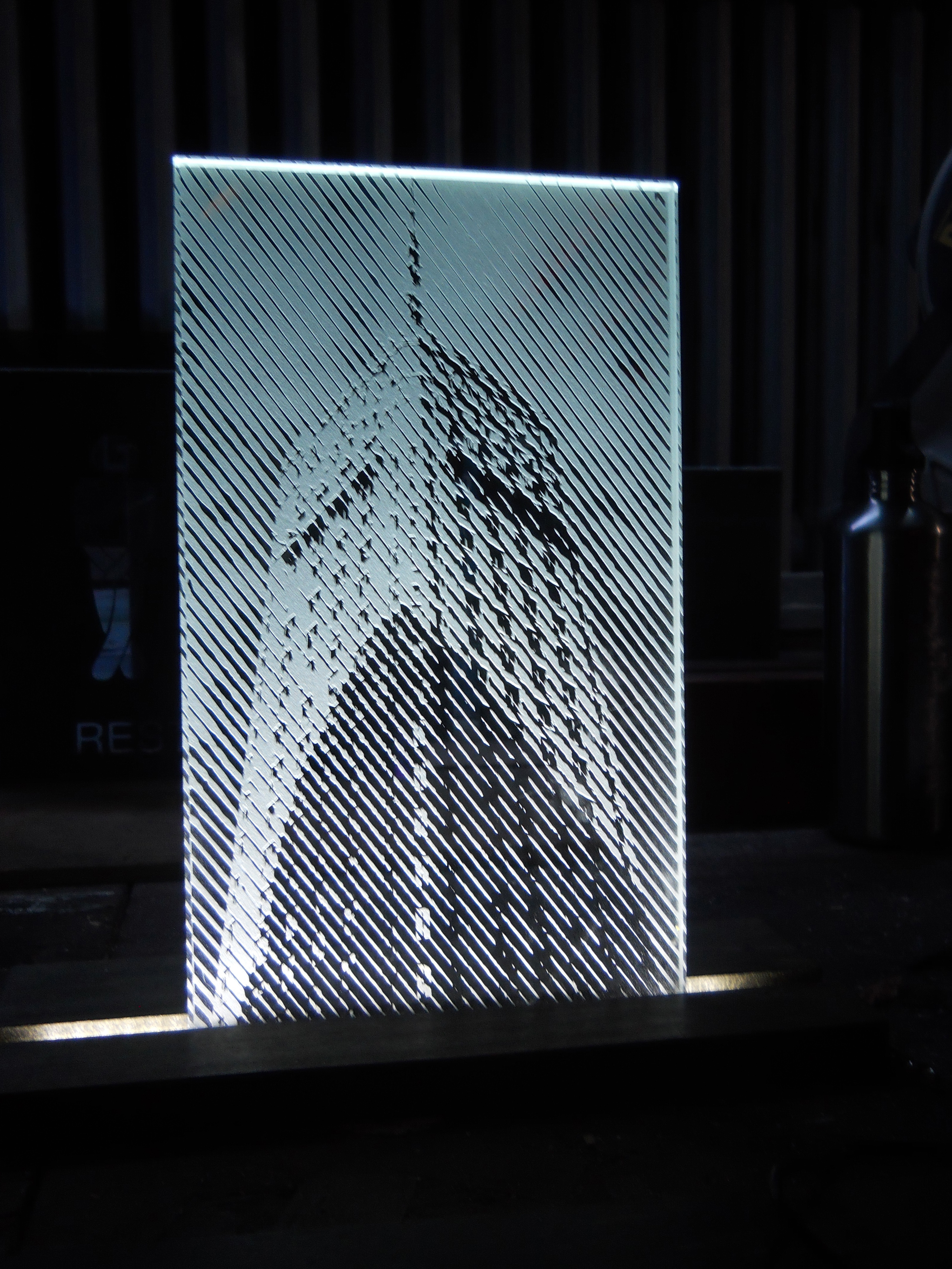 Foshay tower on glass