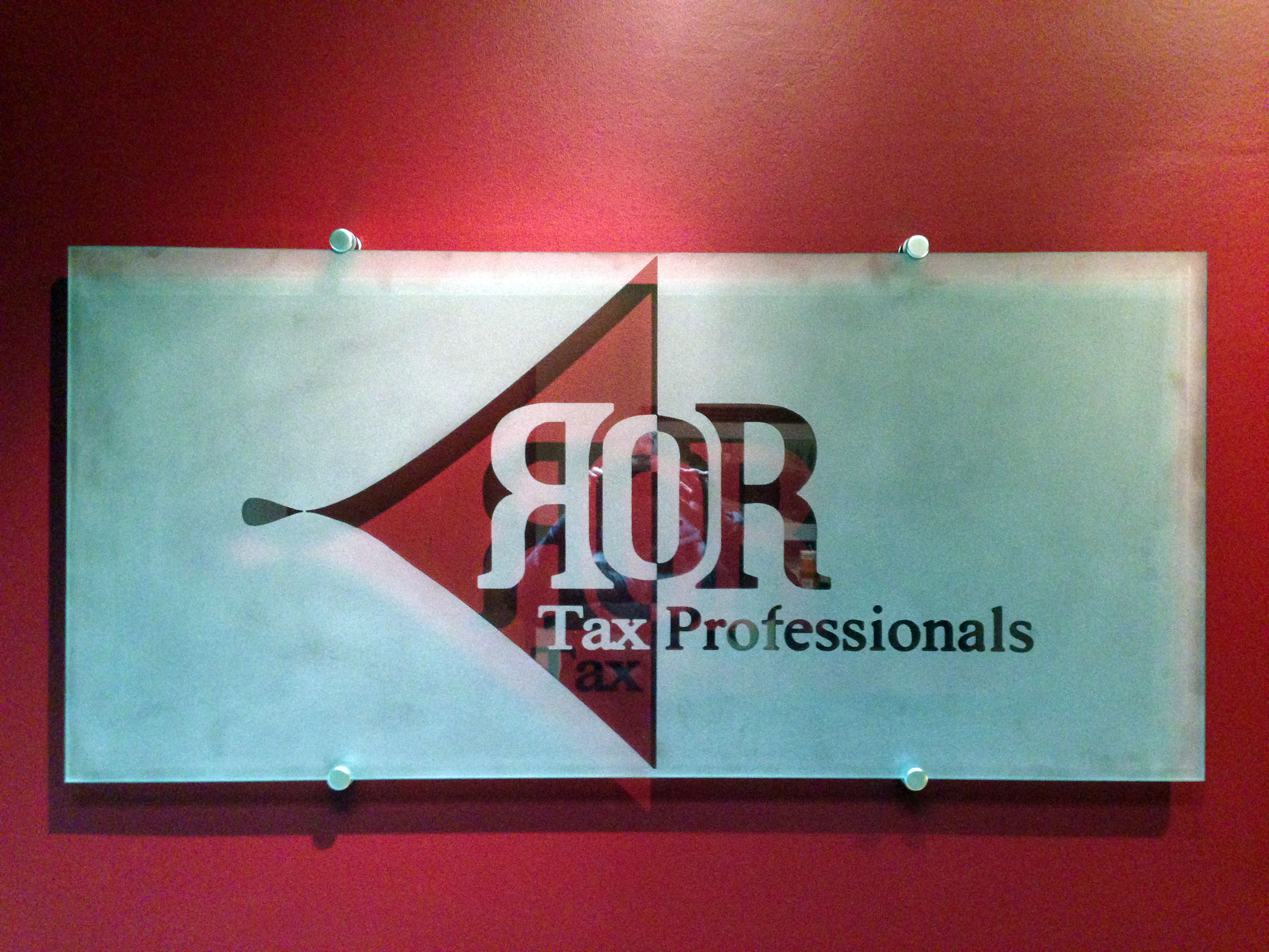 ROR tax sign