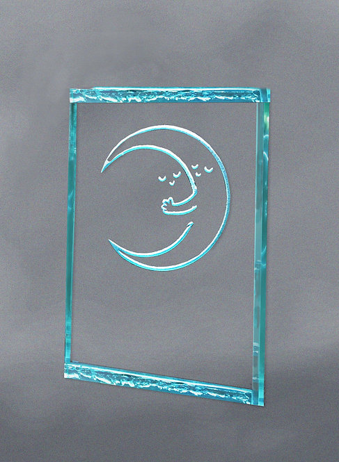 """Sun and Moon Embrace"" Color Changing Nightlight"