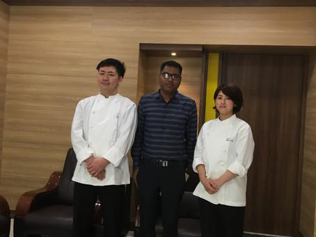 プロのシェフ、南インド料理を学ぶ。パート1