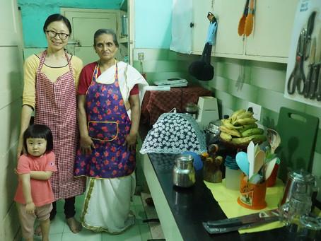 南インド料理教室レポート。パート1
