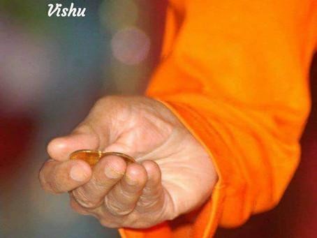 Happy Vishu!今日はKeralaのお祭り。