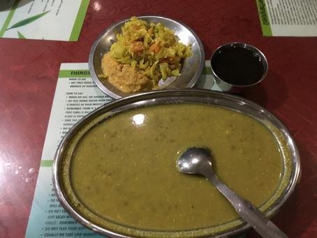 インド、ケララ州、モンスーンの時期に食べるお粥。Karkidakam Kanji(カルキダカム カンニ)
