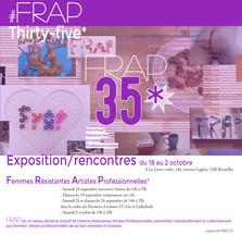 FRAP*35 EXPO-RENCONTRE DU 18 SEPTEMBRE AU 2 OCTOBRE