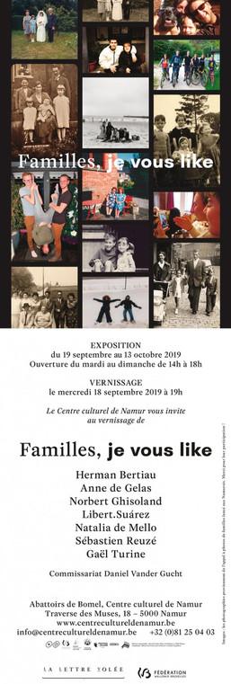 Familles, je vous like / Septembre-octobre 2019