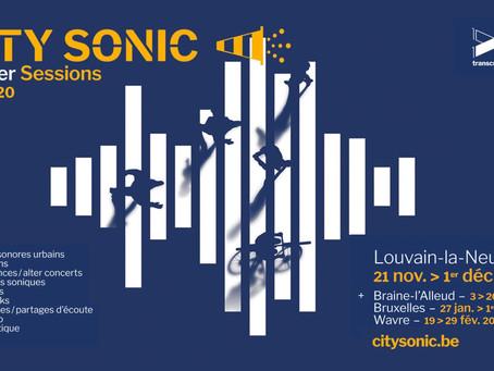Festival City Sonic / Inauguration le jeudi 21 novembre 2019/ 18h > 20h