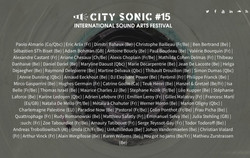 Festival City Sonic#15