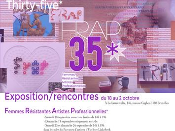FRAP* 35 rencontre-exposition - Réseau de Femmes Résistantes Artistes Professionnelles