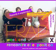 APPEL À PARTICIPATION fin 6 août    -   FRAP rencontre et exposition   > septembre - octobre 2021