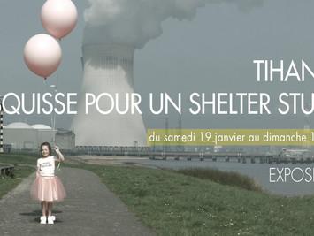 TIHANGE, ESQUISSE POUR UN SHELTER STUDIO, Huy
