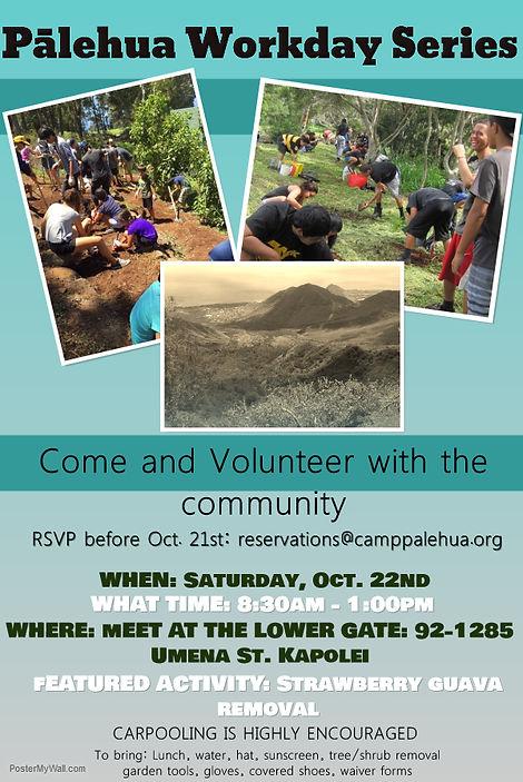 Camp Palehua Work Day @ Kapolei | Hawaii | United States