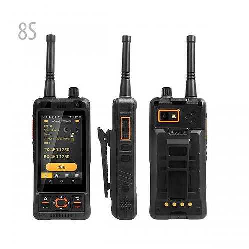8S SURE 8S Walkie Talkie Android智能手機DMR /模擬雙模UHF 400-470MHz