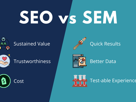 Google 推廣怎麼做?先了解 SEO VS SEM 分別