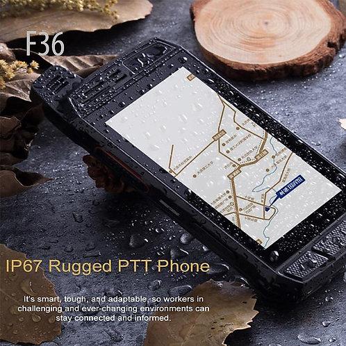 F36 4G LTE 4英寸觸摸屏IP67防水 PTT radio phone/smartphone radio