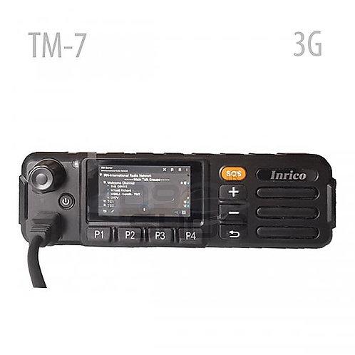 Inrico TM-7 3G WCDMA POC 網絡對講機 for Zello 409PTT
