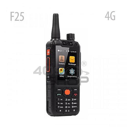 F25 4G LTE Android智能手機和專用PTT按鈕的網絡對講機