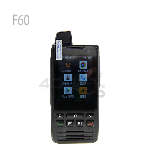 UNIWA F60 4G IP68 PTT Zello 智能手機 網絡對講機