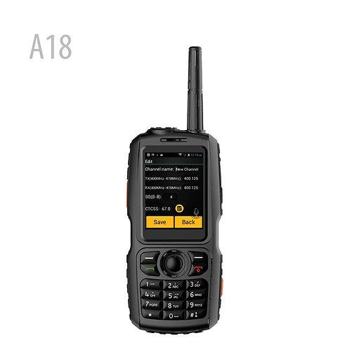 A18 3G 無線 UHF IP68 防水 Zello 網絡對講機 for zeoo 409PTT