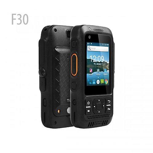F30 ALPS 2.4英寸觸摸屏IP67防水4G LTE Zello Android對講機PTT