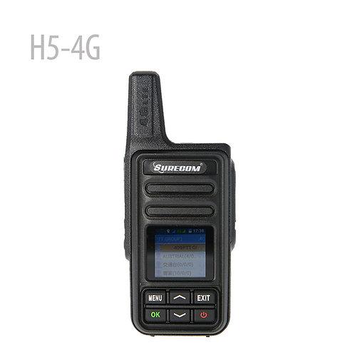 Surecom H5-4G LTE 迷你安卓網絡對講機 彩色LCD 網絡對講機 ( 覆蓋全港)