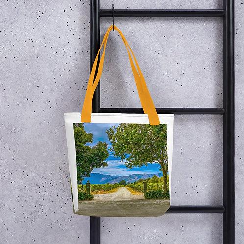 Tote bag Winery Road
