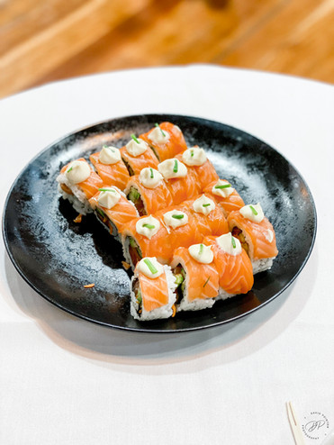 Salmon Sushi from Melbourne