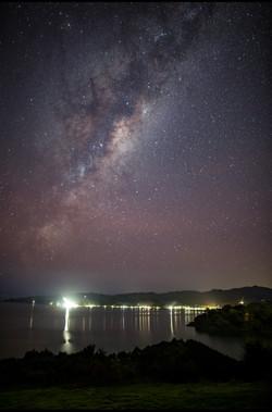 Milky Way in Auckland